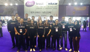 Evolua Educação na Bett Brasil