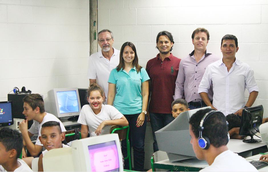 parceria: caic e evolua educação