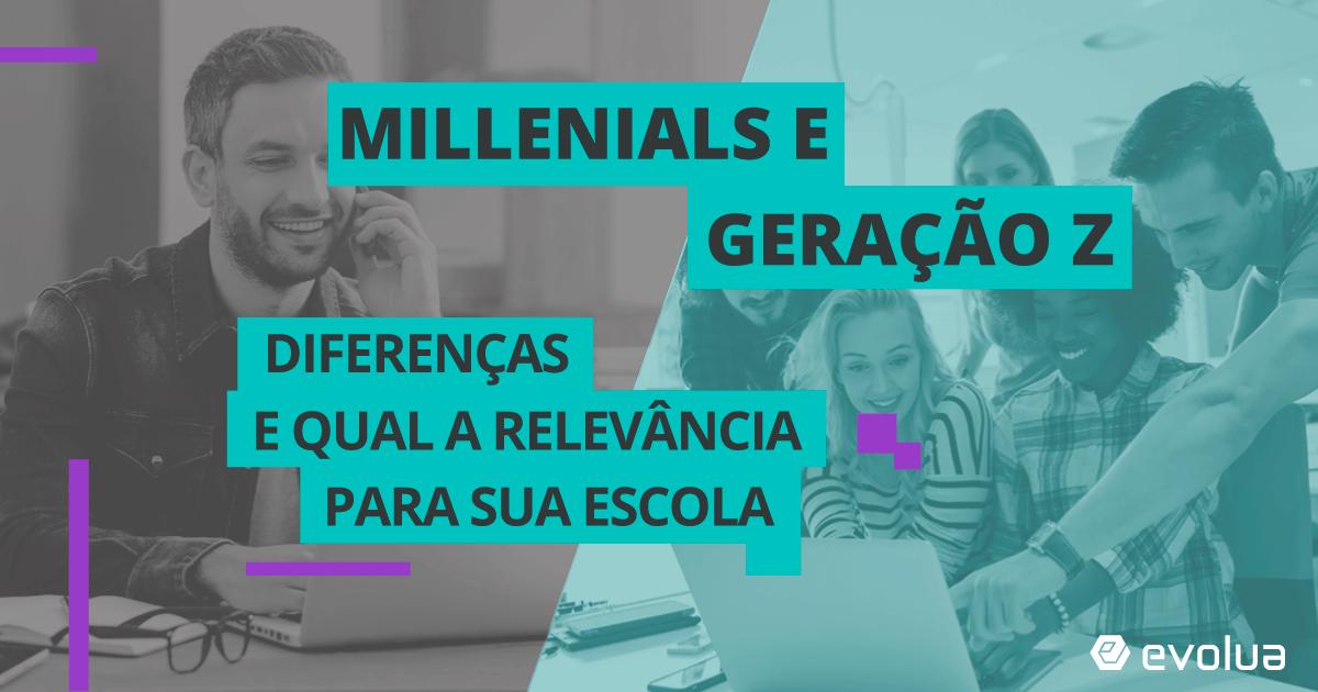Características das gerações y e z: porque são relevantes para a sua escola